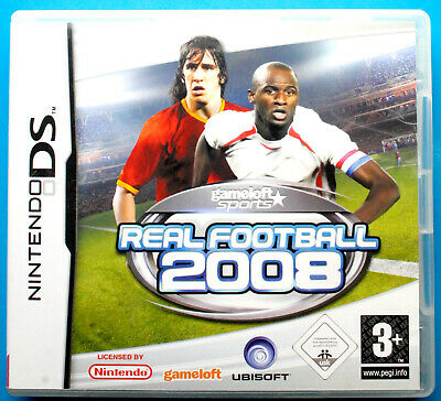 Real Football 2008 - Nintendo DS, DSi, Lite, 3DS, 2DS, XL - FREE POST