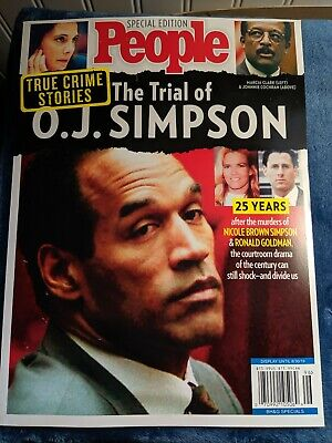 People Magazine The Trial of OJ SIMPSON, True Crime Stories, 25 Years Later, New