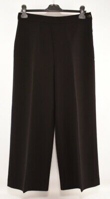 LAUREN RALPH LAUREN Women's Black High Waist Culottes, size UK 8