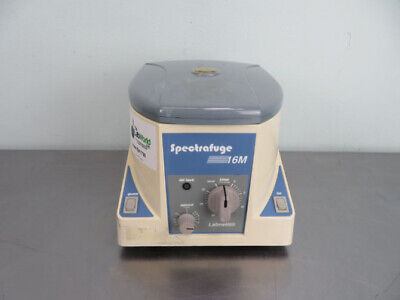 LabNet Spectrafuge 16M Microcentrifuge with Warranty SEE VIDEO