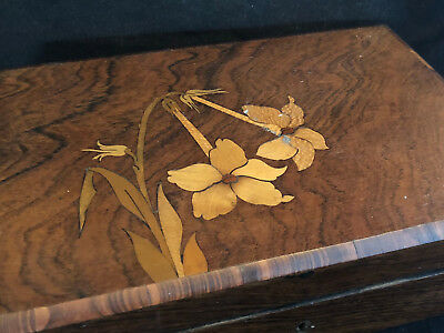 Jugendstil Boxset Art Nouveau Inlaid not Galle not Signed Antique Box 1900