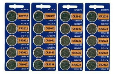 Sony Genuine Fresh Date CR2032 2032 Lithium 3V Batteries Exp 2027 (20 pieces)