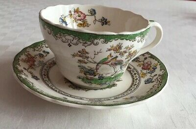 Spode Eden  Breakfast Cup And Saucer