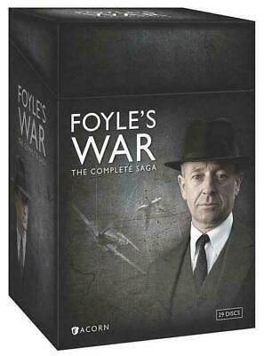 FOYLE'S WAR: THE COMPLETE SAGA (DVD, 2015, 29-Disc Set) BRAND NEW SEALED new