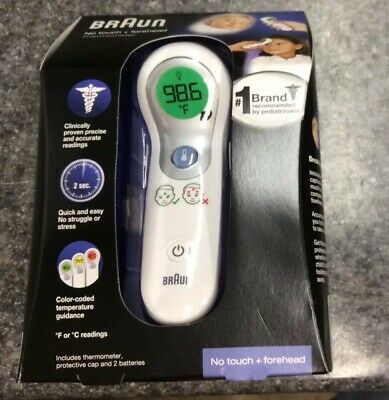 braun no touch forehead thermometer ntf3000