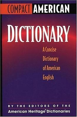 Compact American Dictionary: A Concise Dictionary of American English