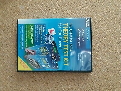 Official DVSA THEORY TEST KIT for car drivers - DVD