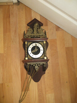 Dutch wallclock, or German maybe with Franz Hermle workings inside