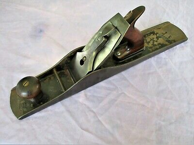 Vintage Stanley Bailey No 6C Fore Plane Type 11 With Early Pat Dates