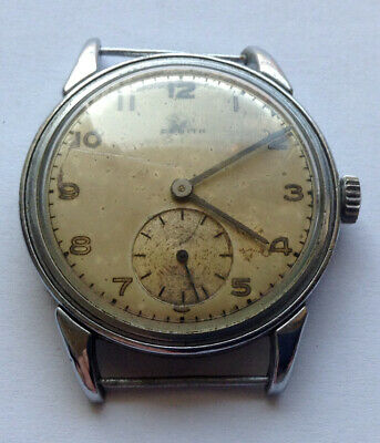 ZENITH Cal. 12-4-P - vintage man's SWISS watch SWISS MADE - about 1930 ART DECO