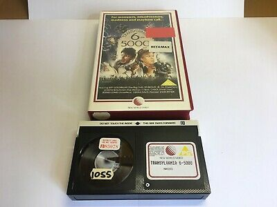 Betamax Film Movie Transylvania 6-5000