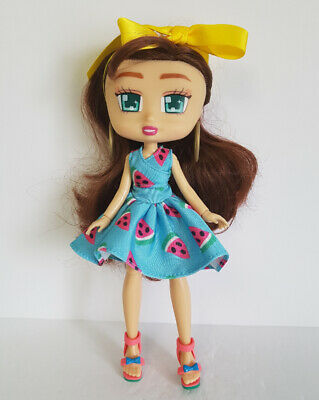 """SALE - Brooklyn BOXY GIRLS DOLL Dressed 9"""" Watermelon Dress and Shoes Jay@Play"""