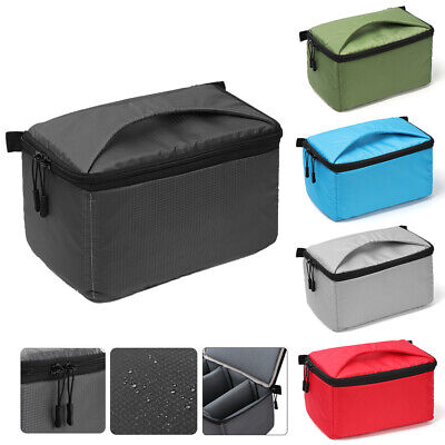 Waterproof Partition SLR Cover Camera Bag Insert DSLR Case For Canon Sony