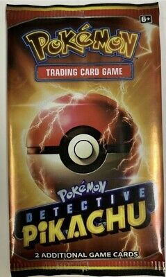 LIMITED Pokemon Detective Pikachu Movie 2 Card Pack  -PROMO 2019 NEW 5 Pack Lot