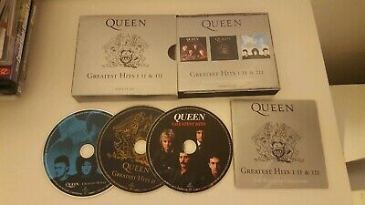 Queen The Platinum Collection CD Greatest Hits 1 2 & 3 2006 Free Fast UK Postage