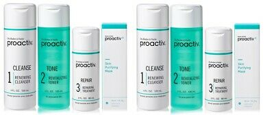 Proactiv 3 Step Acne Treatment System (60 Day) - 2 pack
