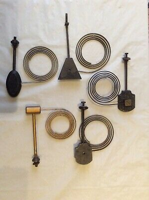 Vintage French Clock Chimes - 5 Various, parts or spares.