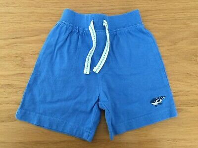 Mothercare Baby Boy Blue Elasticated Waist Shorts 3-6 Months