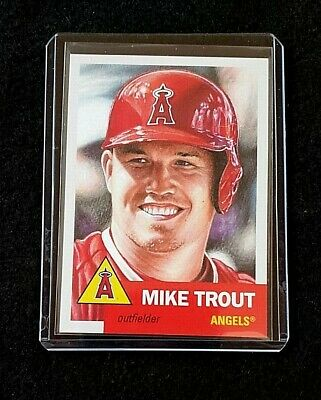 2019 Topps living Set Mike Trout #200 .... Angels