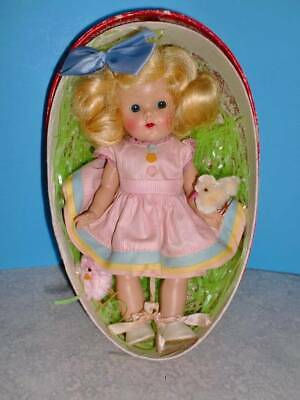 1952 Ginny CONNIE in Vintage Paper Mache Easter  EGG