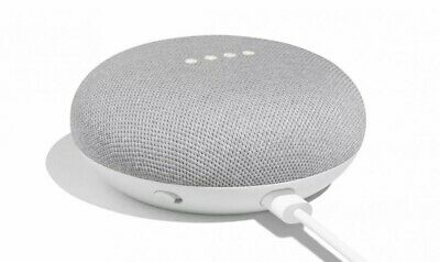 Google Home Mini Smart Speaker with Google Assistant (Chalk)