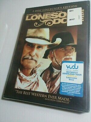 NEW Lonesome Dove [2 Disc Collector's Edition DVD] Robert Duvall Tommy Lee Jones