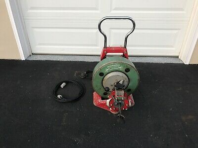 Spartan 300 Compact Sewer Drain Snake & Forward Reverse Selector Tested Works
