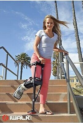 iWALK 2.0 Hands-Free Knee Crutch Alternative In Great Condition Ships FAST!