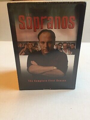 New The Sopranos The Complete First Season VHS 5 Tape Set NIP Sealed VCR Tapes