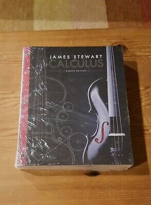 Calculus Loose Leaf 8th Edition By James Stewart ISBN:9781305271760 NEW