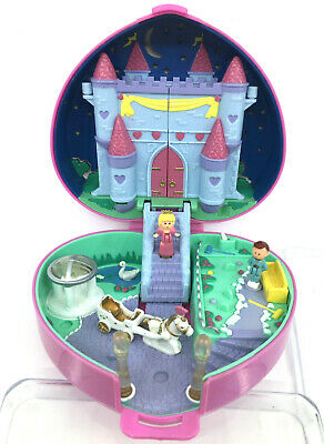 RARE Polly Pocket Starlight Castle 1992 COMPLETE with SWAN Bluebird Vintage