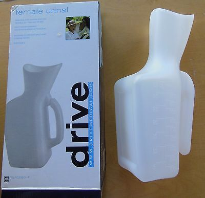 Drive Medical Female Urinal  - Portable - NEW