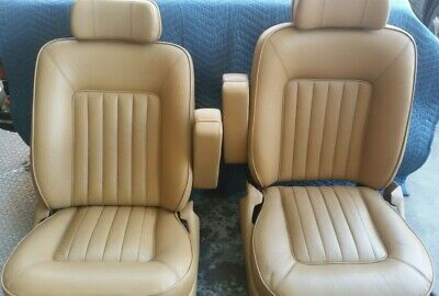 Rolls Royce Spur BENTLEY MULSANNE S FRONT seats refurbished excellent condition