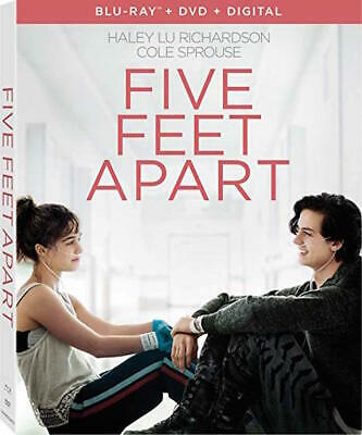 Five Feet Apart - [Blu-Ray/Dvd Combo Pack] - New Unopened - Cole Sprouse