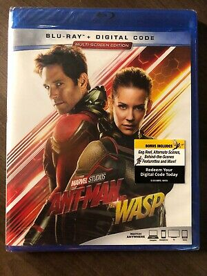 Ant-Man And The Wasp Blu ray Canada Bilingual NO DC LOOK Antman & The Wasp 2