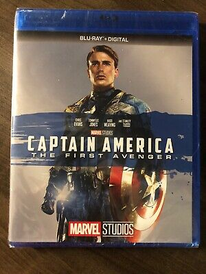 Captain America The First Avenger Blu ray Canada Bilingual NO DC LOOK