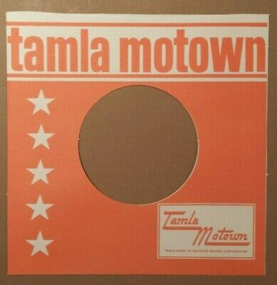 Tamla Motown From 1963 Era Straight Top Reproduction Record Sleeve Pack Of 12