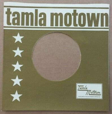 TAMLA MOTOWN MID 60s ERA STRAIGHT TOP REPRODUCTION RECORD SLEEVE PACK OF 12