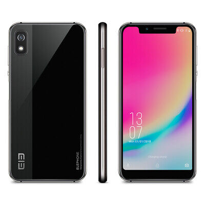 """Elephone A4 5.85"""" HD+ Android 8.1 3GB/16GB Face ID Touch ID 3000mAh 4G Handy"""