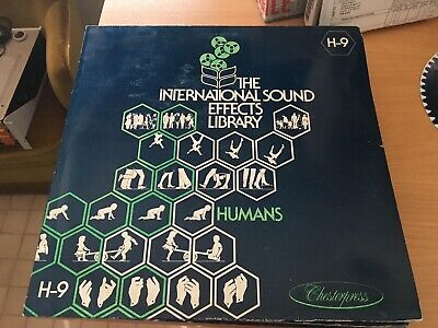 16 Sound Effects (SFX)/Production Music use LPs