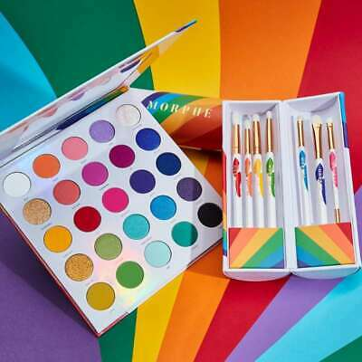 2019 New Cosmetic Morphe 25L Live In Color Artistry Eyeshadow Palette Makeup