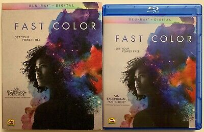 Fast Color Blu Ray + Slipcover Sleeve Free World Wide Shipping Buy It Now Poetic