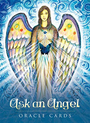 Carissa Mellado-Ask An Angel Oracle Cards (UK IMPORT) BOOK NEW