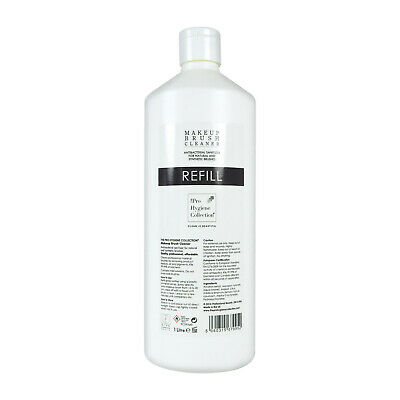 The Pro Hygiene Collection Make-up Brush Cleaner Refill 1000ml 1 Litre - New