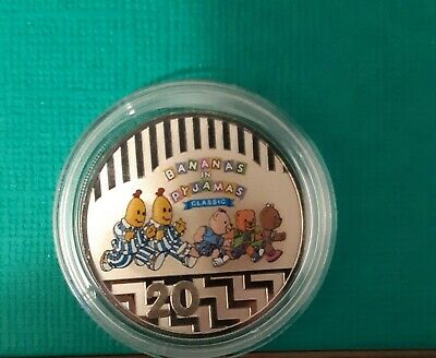 2017 25 Years Bananas In Pyjamas Classic 20 Cent Unc Coin In Brand New Capsule