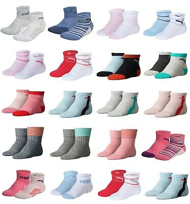 PUMA Luxury Infant Socks - Pack of 2 Pairs - Different Style and Sizes Available