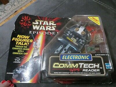 NIB Hasbro 1998 Star Wars Episode 1 Electronic Commtech Reader