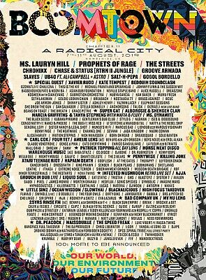 Boomtown 2019 Ticket Wednesday Entry, 7th August- 11th Of August