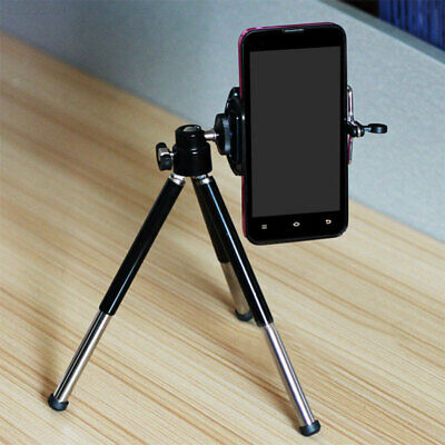 Portable 2 Section Foldable Aluminum Alloy Tripod Stand Support For SLR DSLR