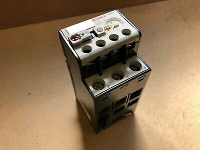 Schiele M40K 637-27 Thermal Overload Relay 25-40A